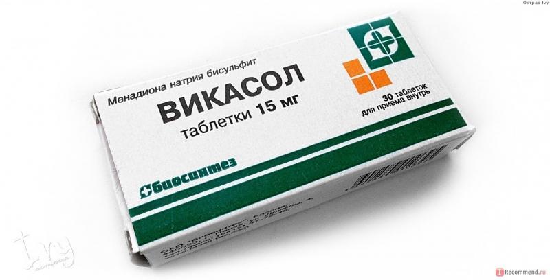 Лекарственный препарат викасол инструкция по применению