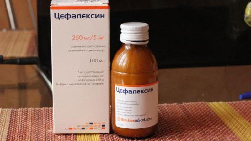 Цефалексин при простатите схема лечения