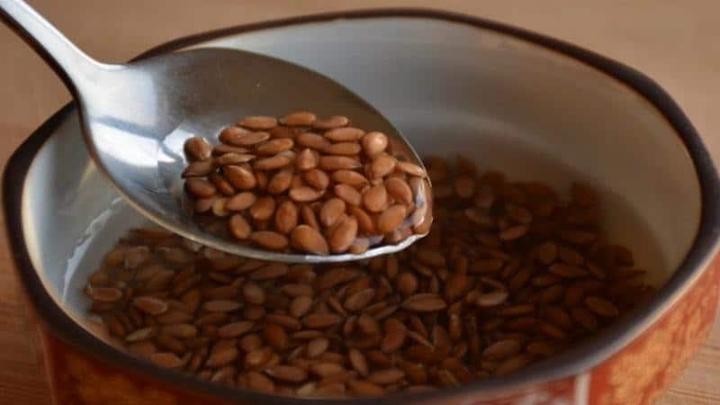 лечение запора льняным семенем