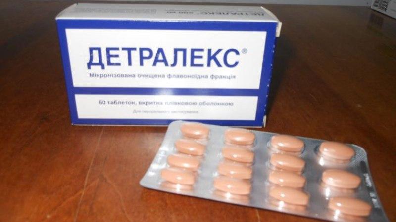 Препарат Детралекс: инструкция по применению при простатите