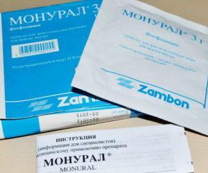 Препарат Монурал: схема лечения при простатите и отзывы